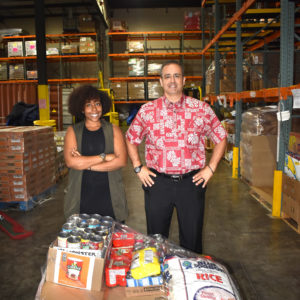 Hawaii Food Bank Donation 2018